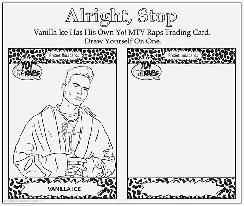 rap coloring book vanilla ice