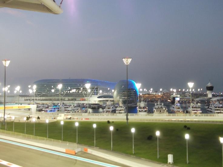 Abu Dhabi's Formula 1 Circuit