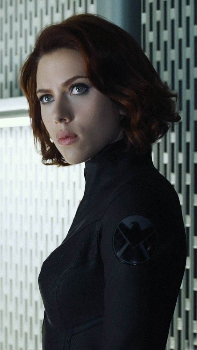scarlett johansson the avengers  | The Avengers (2012) – Scarlett Johansson iPhone 5 wallpapers and ...