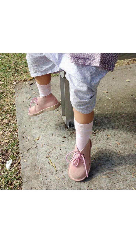 girls pink boots