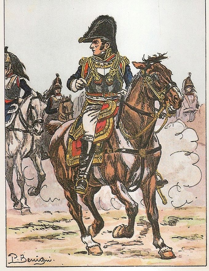 French division general of cuirassiers