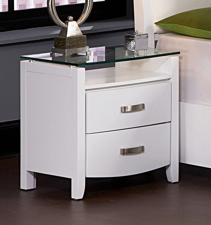 Nice Paint A Glass Nightstand Modern   Http://www.digablearts.com/