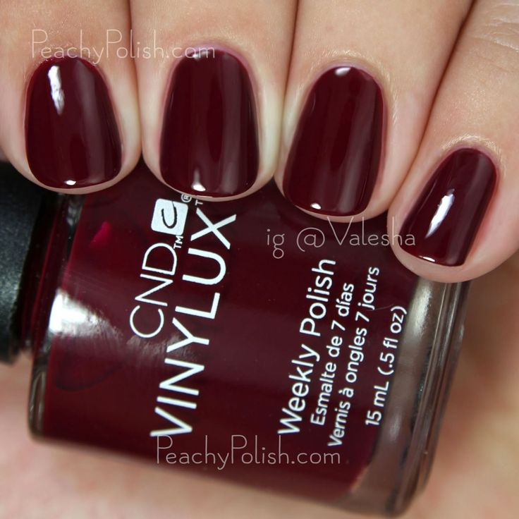 CND VINYLUX Rouge Rite   Fall 2015 Contradictions Collection   Peachy Polish