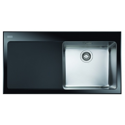 Franke Sink Kubus : Franke Kubus Glass Insert and Drainer Sink - Spectacular in the modern ...