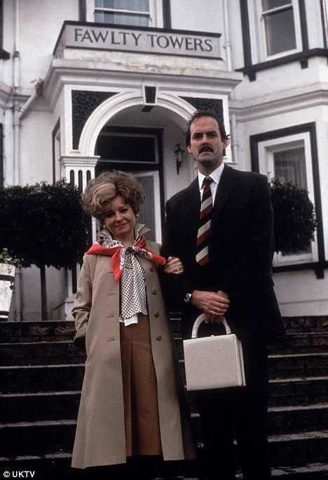 Fawlty Towers - Basil & Syble