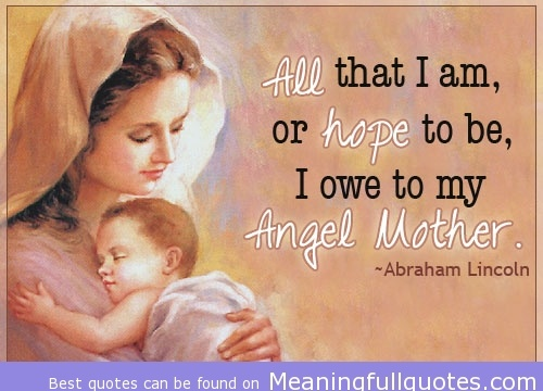 Mother is the blessing of GOD