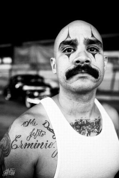 Cholo Tattoos Face