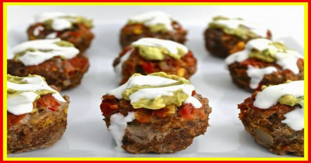 weight watchers best recipes | Style Meatloaf Cupcakes POINTS PLUS 2 - ww recipes