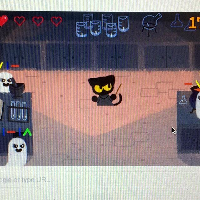 Who also played Google's Halloween game? #google #halloween #game ...