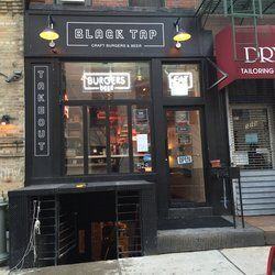 Black Tap Craft Burgers and Beers... 529 Broome St New York, NY 10013 b/t Thompson St & Sullivan St South Village