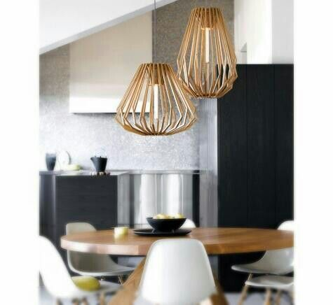 Pendant lights for stairwell - Stockholm Tall and Squat from Beacon Lighting