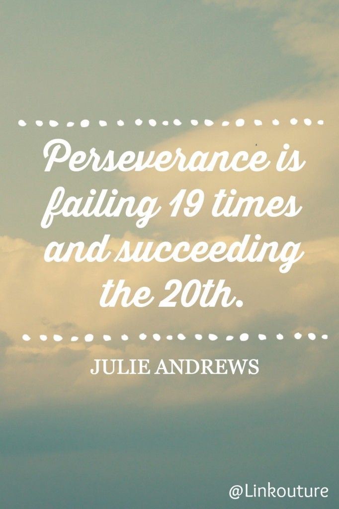 Perseverance How do you define setbacks? Tuesday quotes