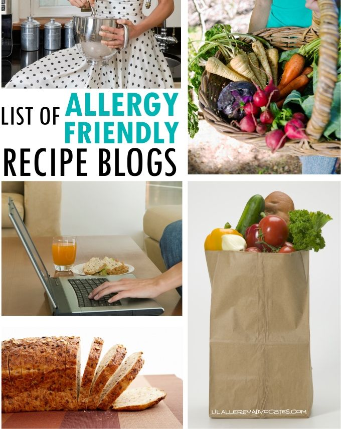 27 best allergy friendly cooking images on pinterest food a list of food allergy friendly recipe blogs dairy free egg free nut forumfinder Choice Image