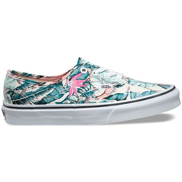 dfe2447b0e Vans Tropical Authentic ( 55) ❤ liked on Polyvore featuring multi ...