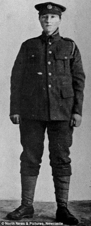 Dorothy Lawrence, the woman that disguised herself as a Tommy and went to the Somme.