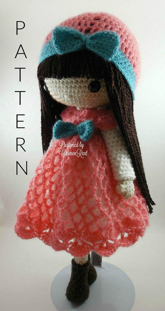 Clara Luz & Anastasia Amigurumi Doll Crochet by CarmenRent