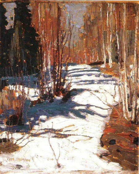 """Yesterday an exhibition of paintings at the Dulwich Picture Gallery came to an end after nearly twelve weeks; it was called """"Painting Canada: Tom Thomson and the Group of Seven"""". It wa…"""