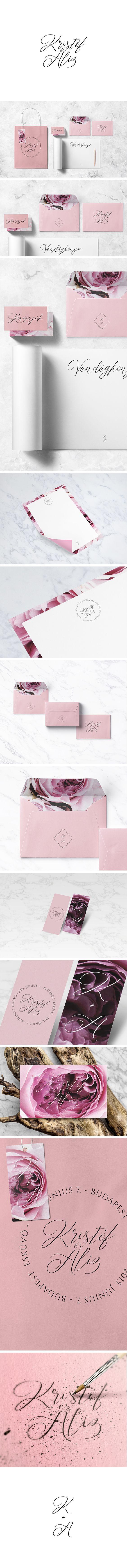 Kristóf + Alíz - Wedding Branding by ZIIJN https://ziijn.myportfolio.com