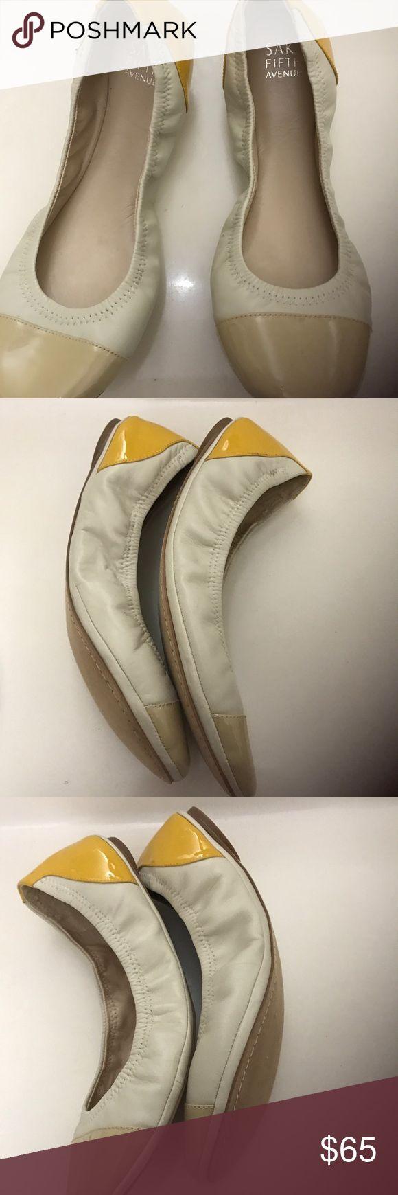 ⚡️FLASH SALE ⚡️Saks Fifth Avenue Ballet Flats NWOT ⚡️FLASH SALE⚡️Saks Fifth Avenue Ballet Flats NWOT            Size:9.5 Saks Fifth Avenue Shoes Flats & Loafers