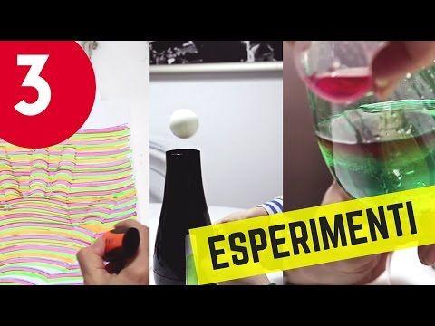 3 esperimenti da fare al volo: da Mano 3D a Arcobaleno da bere