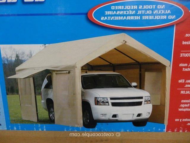 10 X 20 Canopy Tent Costco Portable Garage Tent Canopy Tent
