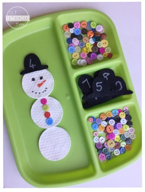... activities snowman counting preschool snowman counting activity for