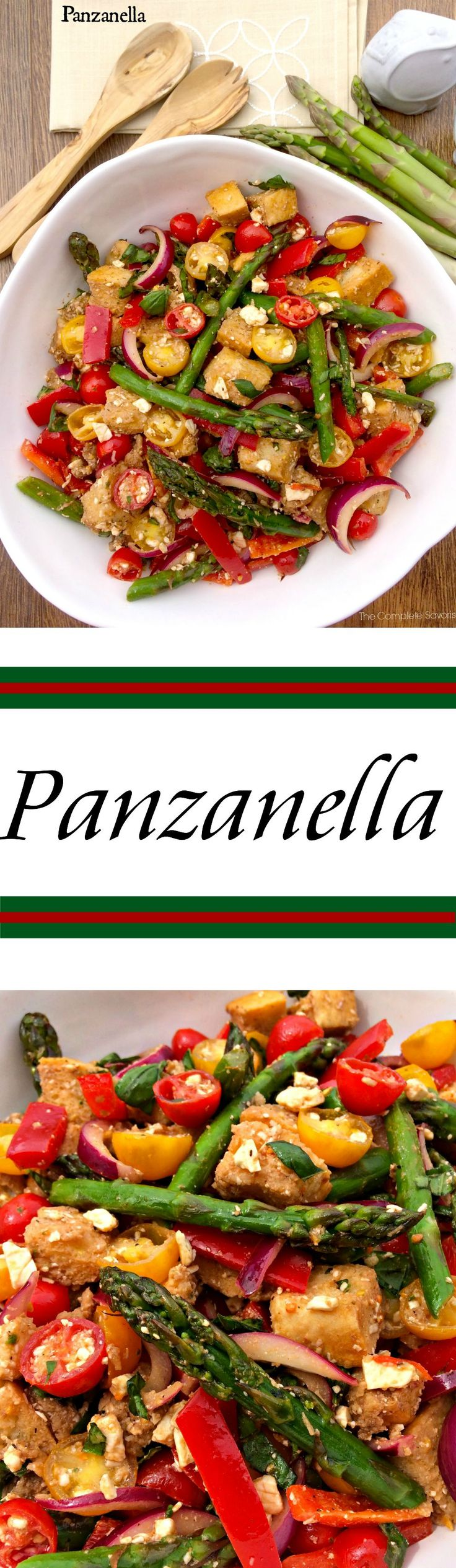 Panzanella ~ The Classic Tuscan Bread Salad ~ The Complete Savorist