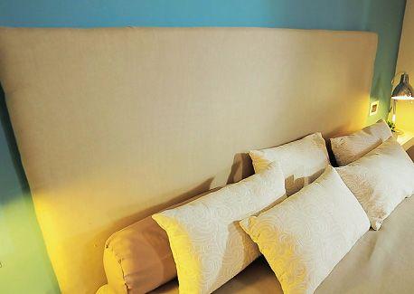 17 migliori idee su camera da letto chiara su pinterest - Testiera letto originale ...