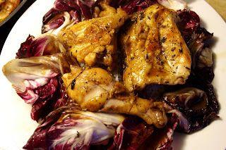 Gordon Ramsay - Chicken Marsala With Red Chicory
