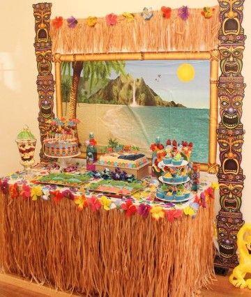 9f13dca84 Una decoracion de cumpleaños hawaiano es una opción diferente y original  para celebrar