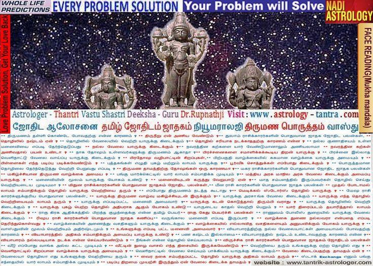 Perambalur Pudukottai Pudukkottai Ramanathapuram Vellore Jyotish Astrologer