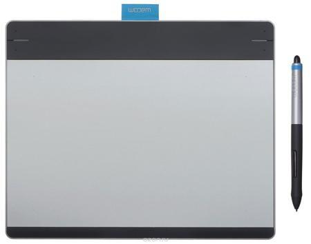 Wacom Intuos Pen&Touch Medium, Silver графический планшет (CTH-680S-S)  — 16999 руб. —  Планшет Wacom Intuos Pen&Touch Medium предоставляет естественный, простой и интересный способ для новичков и любителей воплотить свои творческие идеи. Intuos переносит рисование при помощи ручки и бумаги на новый уровень, позволяя пользователям реализовывать идеи на компьютере. Вы можете делать наброски или шаржи, рисовать картины, редактировать фотографии или разрабатывать дизайн открыток. Новое…