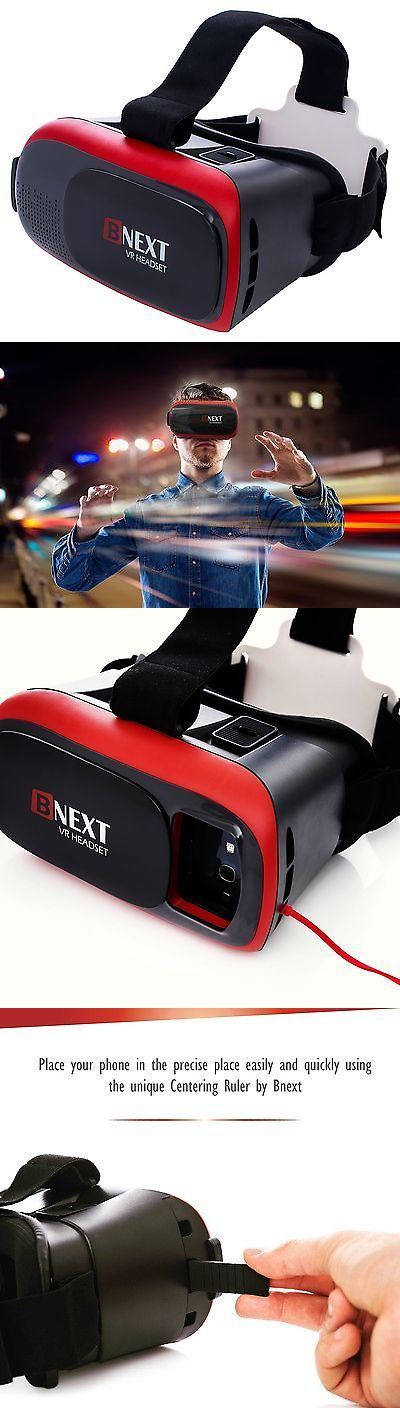 3D TV Glasses and Accessories: 3D Vr Headset Virtual Reality Glasses For Iphone And Android - Play Your Best M... -> BUY IT NOW ONLY: $35.59 on eBay!