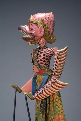 Jatayus (Jatayu), king of the vultures and aide to Rama, approx. 1970