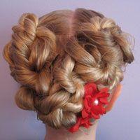 Fun girly hair