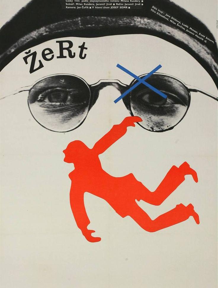 Plakát k filmu Žert