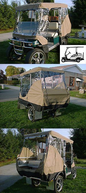 Other Golf Equipment 181155: New Formosa Golf- 4 Passengers Driving Enclosure Golf Cart Cover Taupe -> BUY IT NOW ONLY: $79.99 on eBay! #AceGolfEquipment