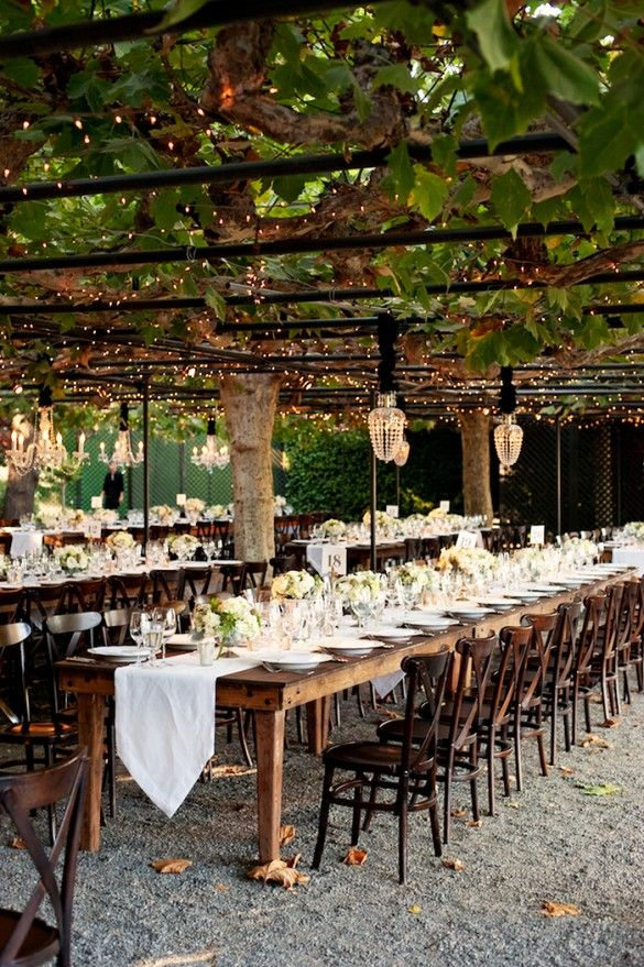 Garden Wedding Reception Ideas Creative 187 Best Images About Outdoor Wedding On Pinterest  Receptions .