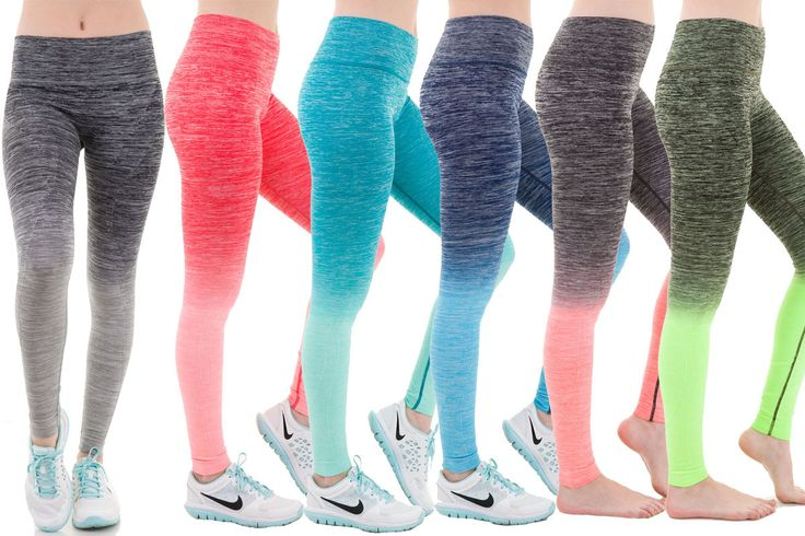 """- Small fits US 00 - 2, Inseam: 13.5"""". Medium fits US 2 - 6, Inseam: 14"""" - Soft Yarn, Flexible, Stretchy, and Comfy - Material: 55% Nylon, 33% Polyester, 12% Spandex - Machine Washable (Hand Wash Cold"""