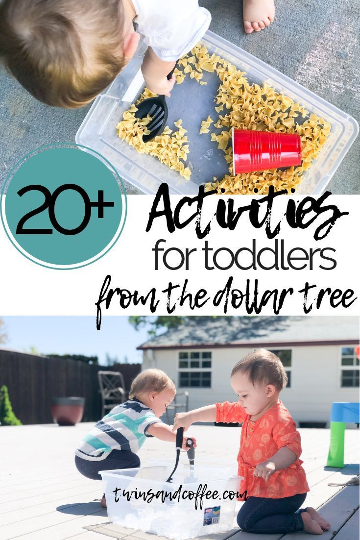 20+ Activities for Toddlers from the Dollar Tree for $20