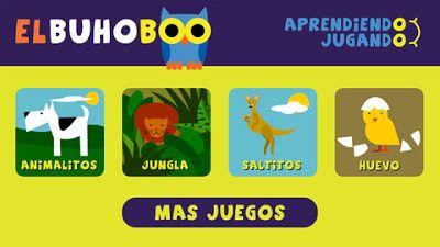 App para niños de preescolar El buho Boo