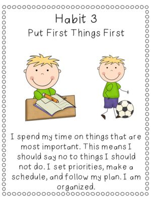 7 Habits of Happy Kids Classroom Poster Set from Third Grade Bookworm on TeachersNotebook.com (7 pages)