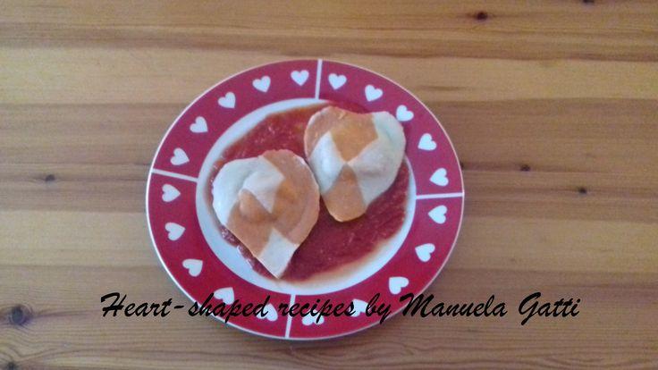 danish heart shaped ravioli