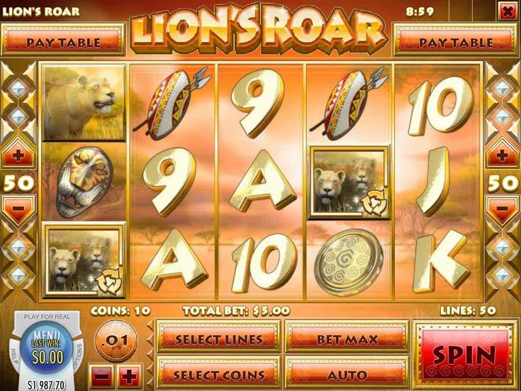 Ausprobieren online Spielautomaten Spiel Lion's Roar - http://spielautomaten7.com/lions-roar/