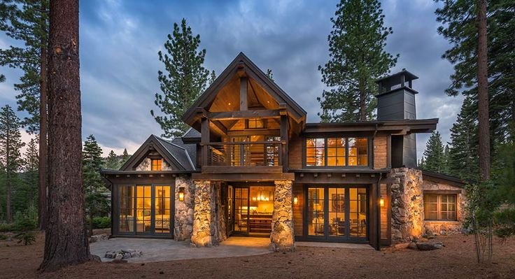 Cabin Outdoor Lighting