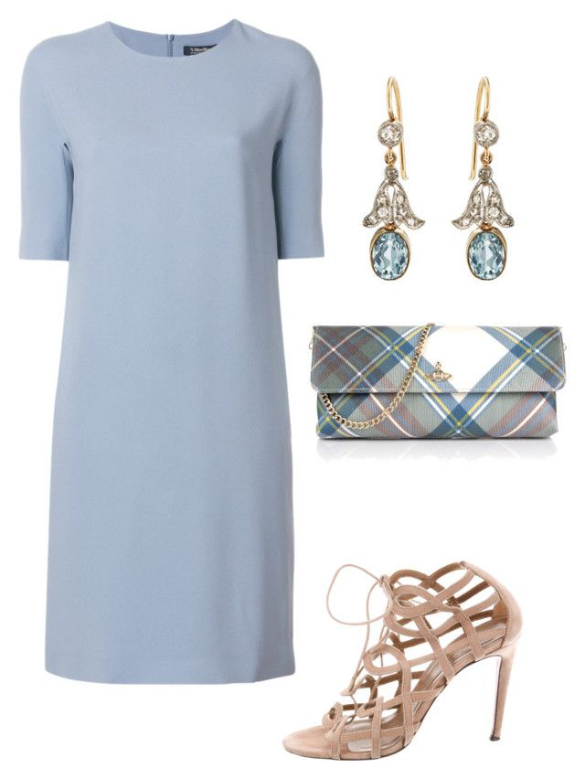 """""""Untitled #729"""" by lovelifesdreams on Polyvore featuring 'S MaxMara, Aquazzura and Vivienne Westwood"""