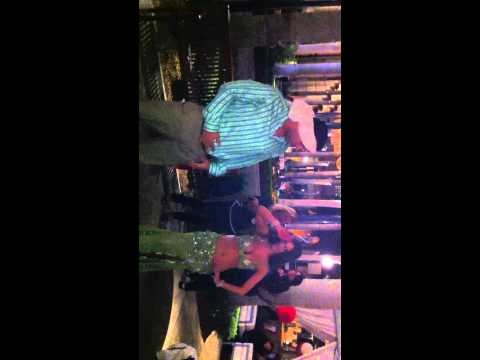 Yanni takes on the Belly Dancer @ Sawa in Merrick Park!