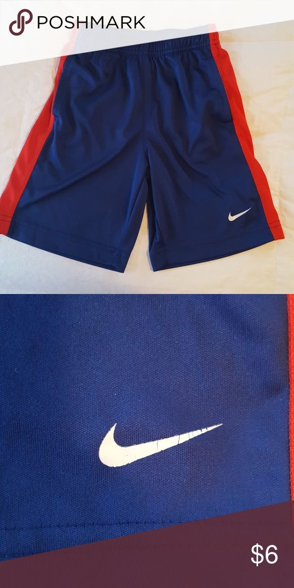 4T Boys Nike Shorts Good used condition.  Some cracking on the swoosh. Nike Bottoms Shorts