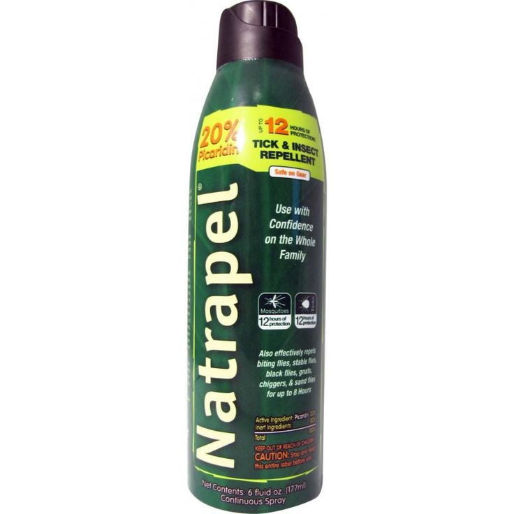 Natrapel®12-hour 6oz Continuous Spray - Natrapel Tick & Insect Repellent - Supplies - Adventure® Medical Kits - First Aid Kits and Survival Gear $8.99