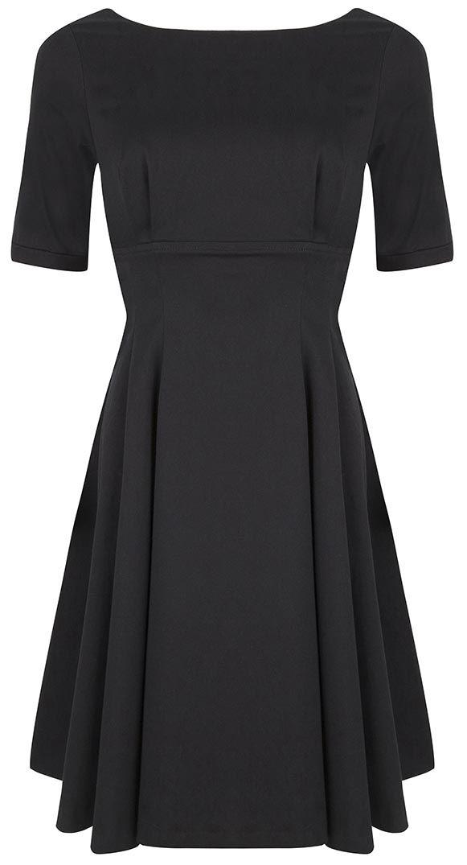 The Black Audrey Dress by BANNOU-XL